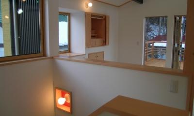 2階リビングの家 (リビング 3)