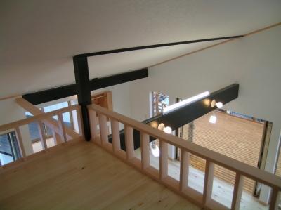 2階リビングの家 (2階リビング 3)