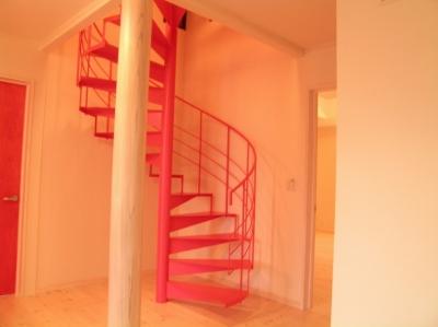 遊園地のような家 (内部階段)
