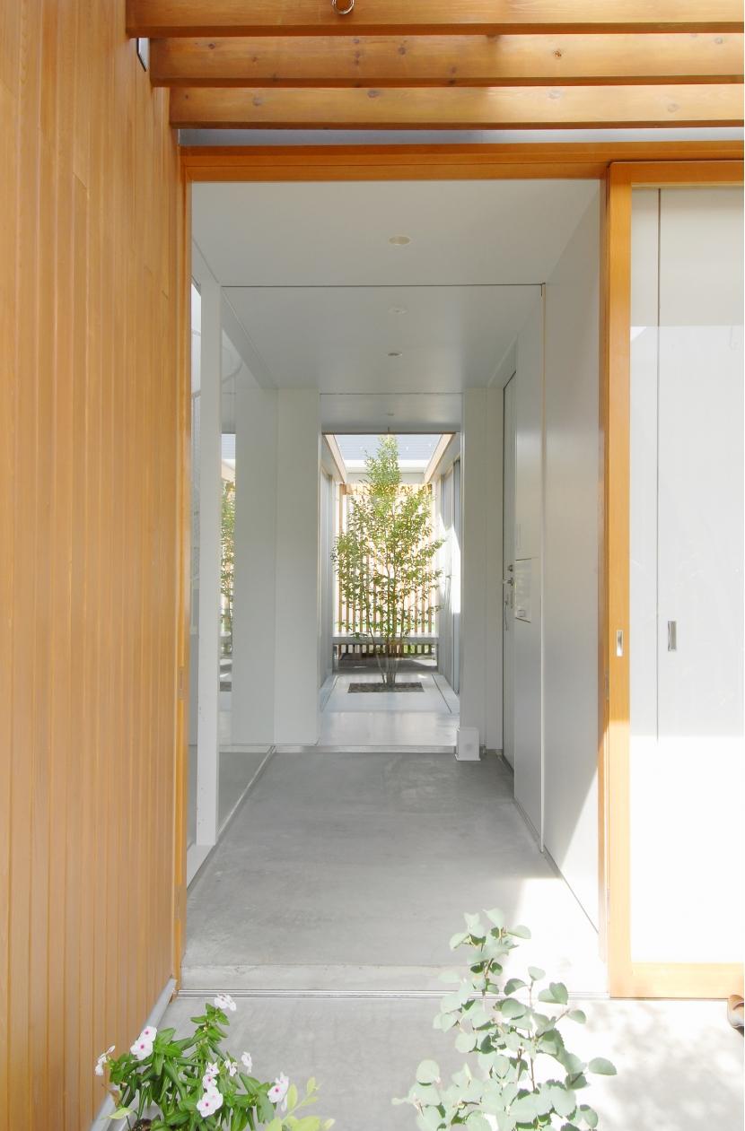 昭和のコートハウスの部屋 玄関