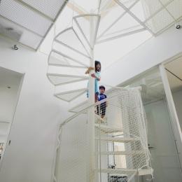 昭和のコートハウス (階段ホール)