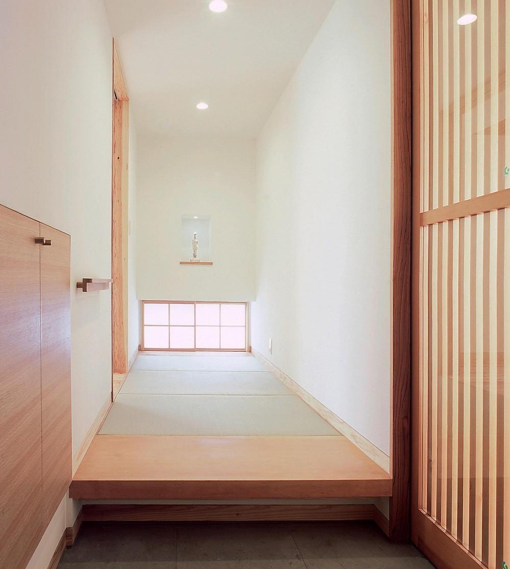 高木町の家~霧島連山を望む家~ (玄関)