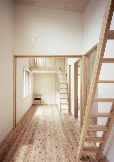 子供部屋 (高木町の家~霧島連山を望む家~)