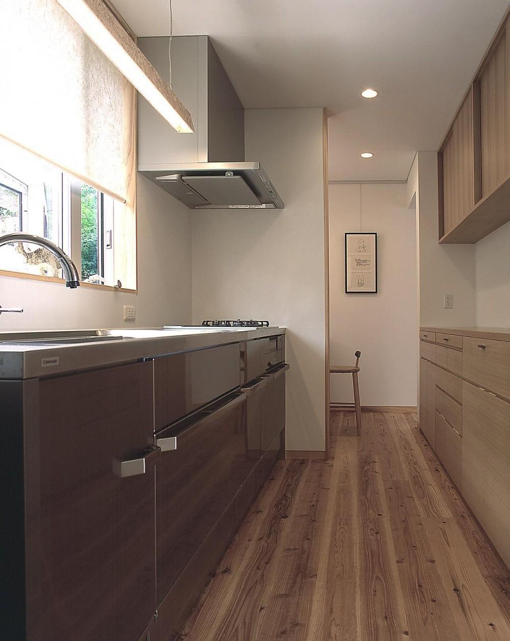 高木町の家~霧島連山を望む家~ (キッチン)