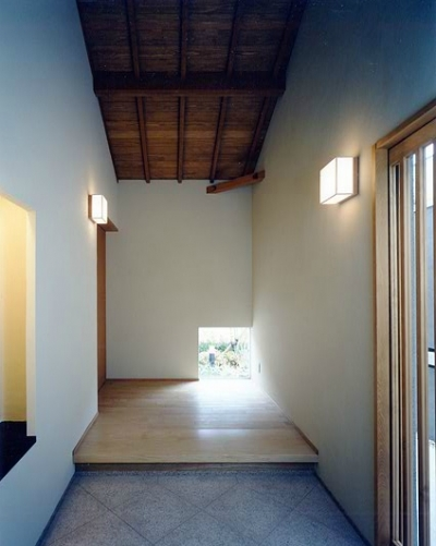 M-house (玄関)
