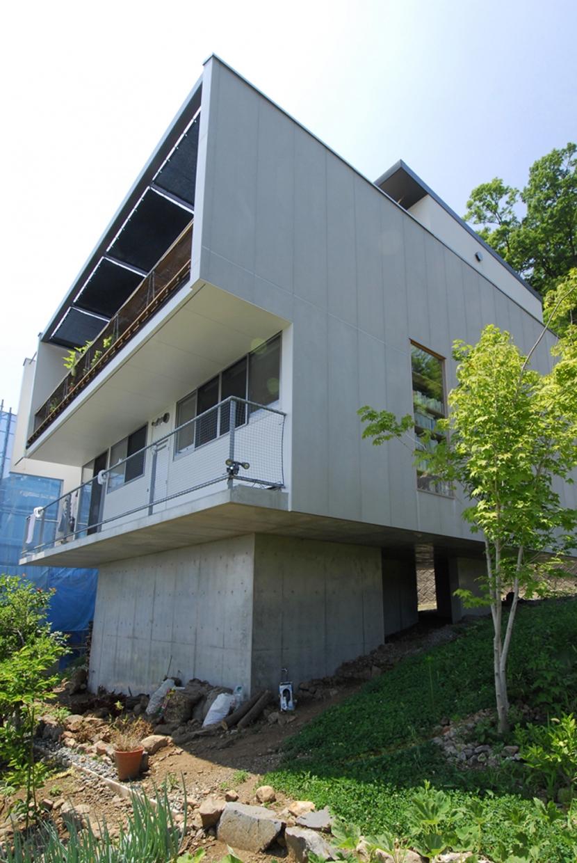 建築家:奥野公章「見晴らしのよい家」