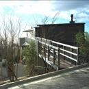高台の家の写真 北側全景