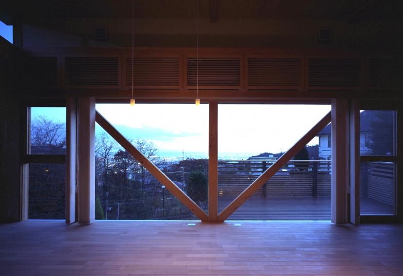 高台の家の部屋 広間3