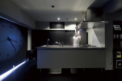 キッチン3 (黒い家)