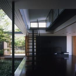 回廊のある家