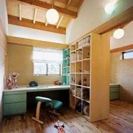 混構造の家-子供室