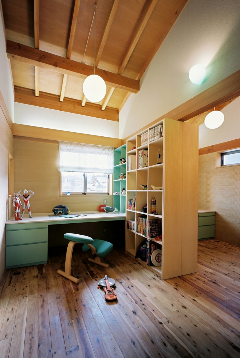 混構造の家の部屋 子供室