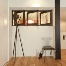白いモルタル塗装はカフェよりカフェに?!人も集まり、猫も気持ちよくなるリノベーションの写真 フリースペース1