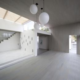 浄妙寺の家 (リビング_ワークスペース)