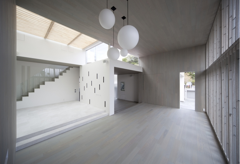 浄妙寺の家の写真 リビング_ワークスペース