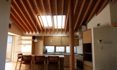 藤沢の家 (ダイニングキッチン)