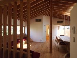 藤沢の家 (リビング)