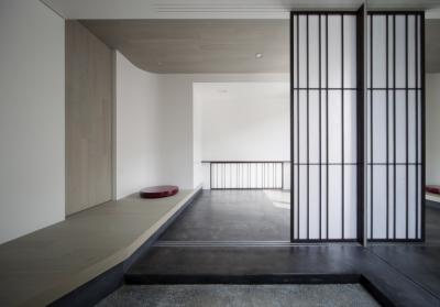 浄妙寺の家 (玄関ホール)