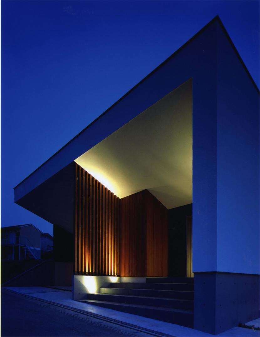 T-house「光庭のある家」の部屋 外観