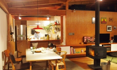 群馬県太田市・芝屋根住宅-1|mat house