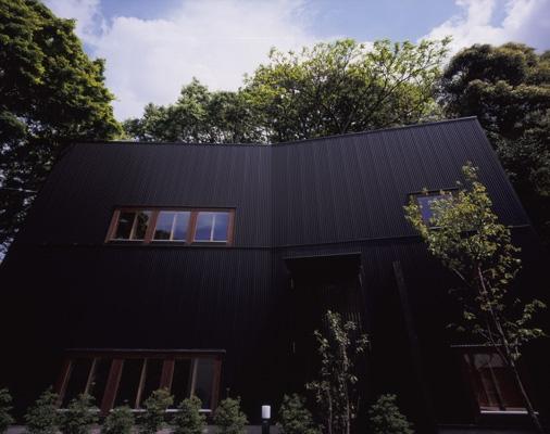 材木座の家の部屋 外観2(撮影:淺川敏)