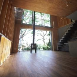 材木座の家 (LDK-1(撮影:淺川敏))
