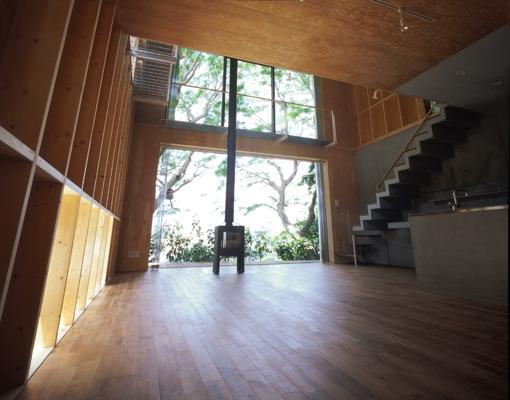 材木座の家の部屋 LDK-1(撮影:淺川敏)
