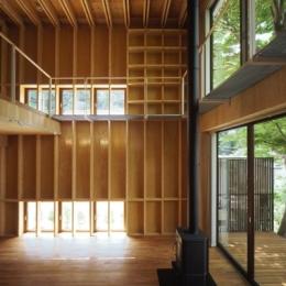 材木座の家 (LDK-2(撮影:淺川敏))