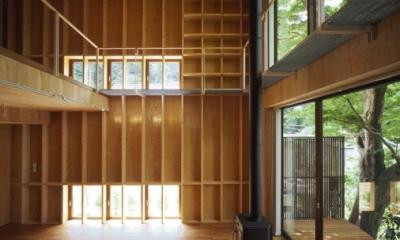 LDK-2(撮影:淺川敏)|材木座の家