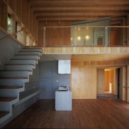 材木座の家 (LDK-3(撮影:淺川敏))