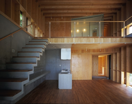 材木座の家の部屋 LDK-3(撮影:淺川敏)