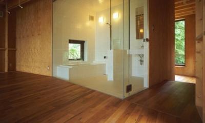 浴室(撮影:淺川敏)|材木座の家