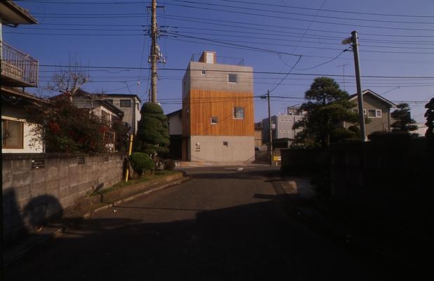 海老名の家の部屋 外観1(撮影:淺川敏)