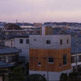 海老名の家 (外観2(撮影:淺川敏))