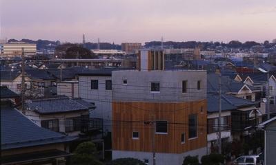 外観2(撮影:淺川敏) 海老名の家