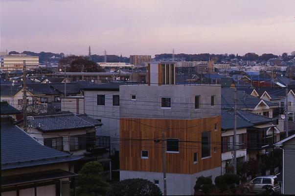 海老名の家の部屋 外観2(撮影:淺川敏)