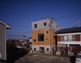 海老名の家 (外観3(撮影:淺川敏))