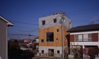 外観3(撮影:淺川敏) 海老名の家