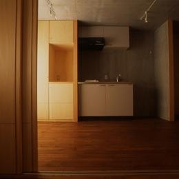 海老名の家 (洗面所(撮影:淺川敏))