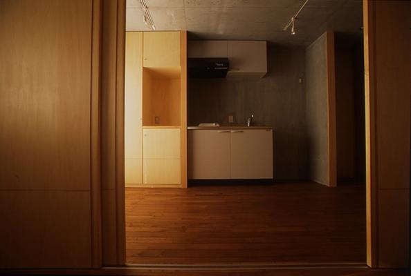 海老名の家の部屋 洗面所(撮影:淺川敏)