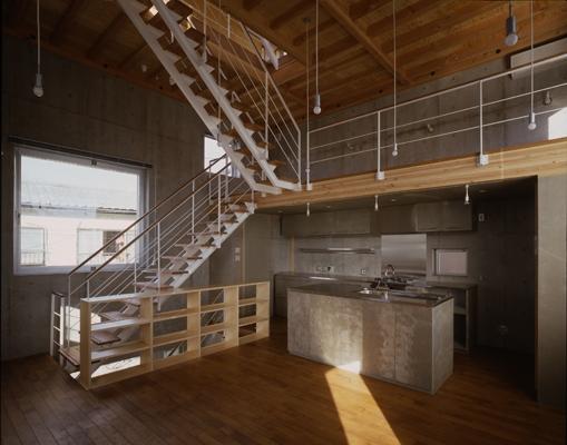 海老名の家 (LDK(撮影:淺川敏))