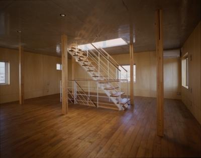 ベッドルーム(撮影:淺川敏) (海老名の家)