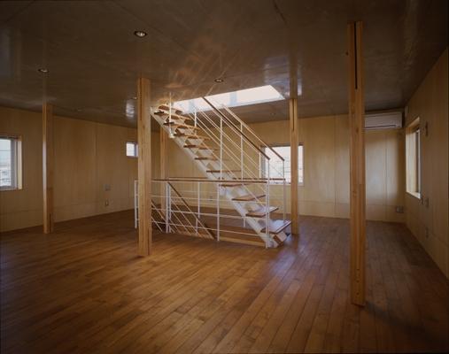 海老名の家の部屋 ベッドルーム(撮影:淺川敏)