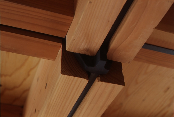 海老名の家の部屋 天井(撮影:淺川敏)
