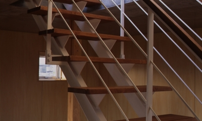 階段(撮影:淺川敏)|海老名の家