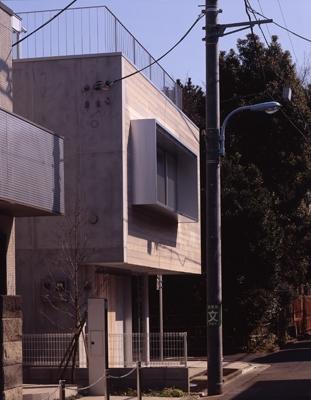 西荻の家の部屋 外観2(撮影:淺川敏)