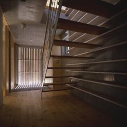 西荻の家 (玄関(撮影:淺川敏))