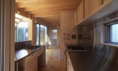 西荻の家 (キッチン(撮影:淺川敏))