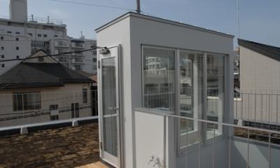 西荻の家 (屋上)