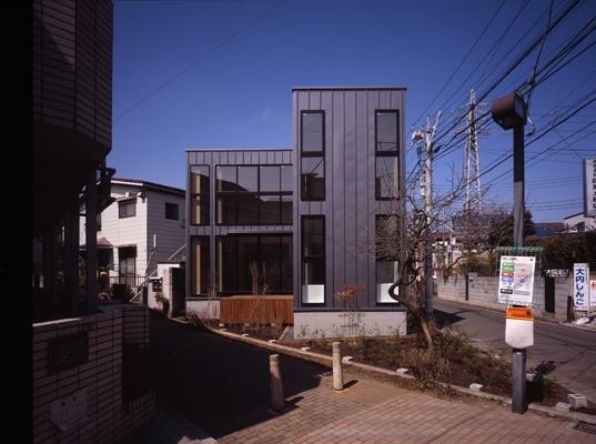 野方の家の部屋 外観2(撮影:淺川敏)
